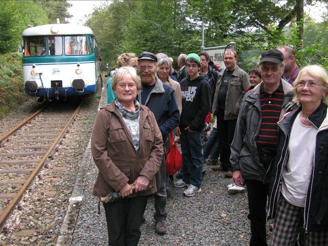 Remperg-Mühlenau Halt after the reactivation (Photo Uli Clees)